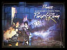 PURPLE RAIN * CineMasterpieces FRENCH HUGE 8 PANEL ORIGINAL MOVIE POSTER PRINCE