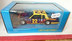 SCALEXTRIC C4038 Chevrolet Monte Carlo Race Car T. Fairhall No.22 NEW