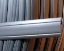 1 Meter Abdeckprofil Kederschiene Schraubkanal Leistenfüller silber 12mm