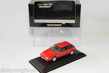 . MINICHAMPS VOLVO 480 ES 480ES 1986 RED MINT BOXED RARE SELTEN