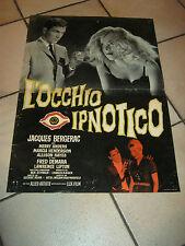 FOTOBUSTA,1960,L'OCCHIO IPNOTICO JACQUES BERGERAC DEMARA GEORGE BLAIR