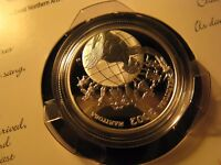 Festivals Canada 2002 Folkorama 50 Cent Fine Silver Coin Rcm Set.