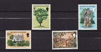 1975 Guernsey, Victor Hugo, NH Mint Set of Stamps, SG. 126-29