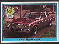 Panini Super Auto 1977 Sticker - No 73 - Vintage Car - Buick Skylark Coupe