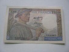 10 francs -Mineur-1949 -TTB+
