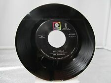 """45 RECORD 7""""- RAY CHARLES - YESTERDAY"""