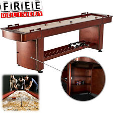 Shuffleboard Table 9 Feet Classic Solid Wood Playroom Cabinet Vintage Barrington