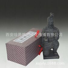 Chinese Terracotta army warrior clay figure