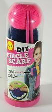 New in Broken Package ALEX Toys Craft DIY Circle Scarf W/ Yarn Knitting Needles