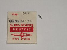 Helvetia (general) balance staff 34 35BL axe de balancier Unruhwelle Bestfit 347