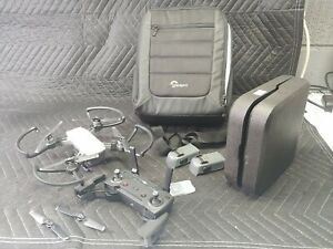 DJI Spark Quadcopter Fly More Combo w/ 3 batteries and LowePro bag included