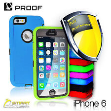 Tradesman Proof Heavy Duty Case Cover For iPhone 6 6s Plus Build-in screen prote