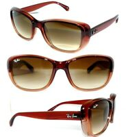 Ray Ban RB 4174 Sonnenbrille ROT BRAUN JACKIE OHH 4101 DAMEN 4171 BRILLE 4261