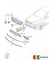 Neu Original VW Touareg 2015-2017 Vorne Stoßstange Gitter Mitte Schwarz Deckel