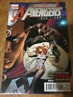 THE NEW AVENGERS END TIMES COMIC BOOK # 33 Marvel 2012 Bendis Oeming Beredo