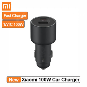 Chargeur Voiture Prise Allume Cigare 100W 1A1C Fast Charging Dual-port Xiaomi