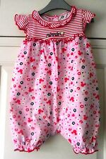 Minnie mouse - Pink print Rompa Suit - 3-6 months