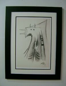 CUBAN ART BY WILFREDO LAM!! OPEN EDITION SERIGRAPH ON COTTON PAPER!!