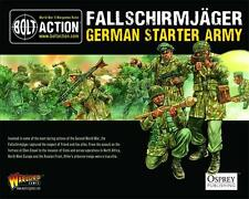 28mm Warlord German Falschirmjager Starter Army BNIB, WWII Bolt Action,