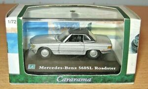 Cararama MERCEDES BENZ 560SL Roadster MIB 1/72 scale