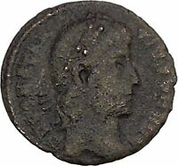 CONSTANTIUS II son of  Constantine the Great  Ancient Roman Coin Standard i42515