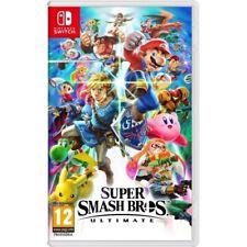 Videojuego Nintendo Super Smash Bros Ultimate Switch Lucha, Juegos de Consolas