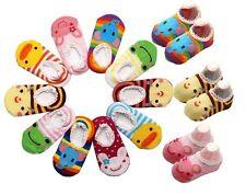 1pc Newborn Baby Infant Toddler Boy Girl Cartoon Non-slip Anti Slip Skid Socks
