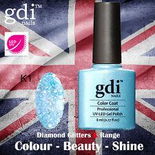 UK SELLER Gdi Nails Diamond Glitters K01 UV/LED Gel Soak Off nail polish