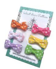 Baby Hair Bows Baby Shower Gift made w/ VELCRO® brand fastener Hair bows newborn