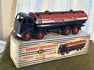 Dinky SuperToys #942 Foden 14 ton tanker Regent VG/ NM in Good Box all original