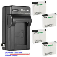 Kastar Battery Wall Charger for Xiaomi YI AZ13 AZ13-2 Xiaomi Yi 1 Action Camera