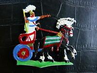 Plats d'étain - Zinnfiguren - Chariot égyptien n° 3