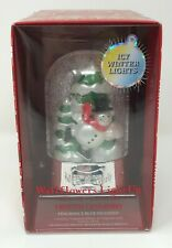 2012 Bath & Body Works Wallflower Diffuser Set - SKATING SNOWMAN FROSTED CRANBER