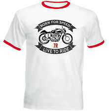 AJS 7R - NEW COTTON TSHIRT - ALL SIZES IN STOCK