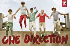 One Direction Jumping Maxi Poster 61x91.5cm LP1519 HARRY LOUIS LIAM NIALL ZAYN