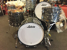 Ludwig Classic Maple 13,16,22 Vintage Black Oyster Ringo Star Drum Set $2098.00