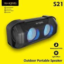 Genuino W-King S21 Altavoz Bluetooth Wireless Impermeable Recargable IPHONE 11