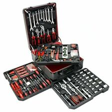 Tool Kit 399 Pieces Box Storage Trolley Chrome Gift Tools Made of High Quality