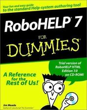 RoboHELP 7 for Dummies-ExLibrary