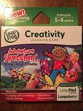 LEAPFROG EXPLORER LEAPPAD ADVENTURE SKETCHERS DRAW PLAY CREATE 5-8 Creativity