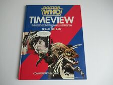 More details for doctor who timeview book frank bellamy/tom baker/jon pertwee/illustrations (new)