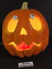 VTG HALLOWEEN Foam Blow Mold Jack O Lantern Light Pumpkin TRENDMASTERS 95 *RARE*