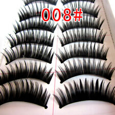 Women Thick Curler Makeup Natural Cosplay False Eyelash Handmade Fake Eye Lash