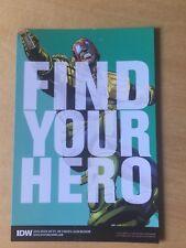 SDCC 2017 Comic Con EXCLUSIVE IDW FIND YOUR HERO JUDGE DREDD PROMO CARD 4 X 6