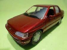 SCHABAK1527 1528 FORD ORION GHIA - METALLIC RED 1:24 - GOOD CONDITION