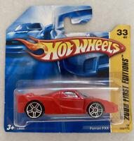 2008 Hotwheels Ferrari FXX Enzo Red Rosso! Mint! MOC!