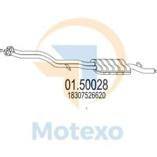 MTS 01.50028 Genuine MTS BMW New Exhaust Centre Middle Box with 2 year warranty