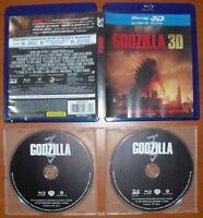 Godzilla 2014 [Blu-Ray 2D + 3D Region Free ABC] Gareth Edwards, Elizabeth Olsen