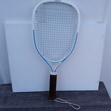 "New listing Vintage Ektelon Blue Lite Racquetball Racquet 3 3/4"" Grip--WITH CASE!!"