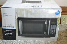 Mainstays Microwave Oven 0.7 Cu ft Black Countertop EM720CGA-B
